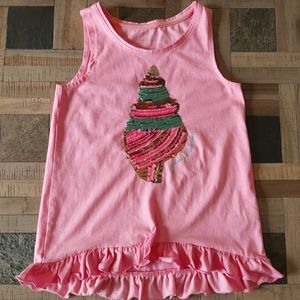 Tommy Bahama Shell 🐚 Sequins Tank Top